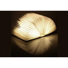 Светильник Книга 13см в деревянной обложке