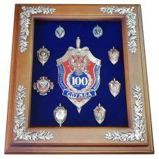 Панно 100 лет ФСБ юбилейное 34х29см