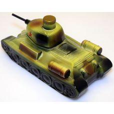 """Штоф ручной работы """"Т-34"""" 0,75мл"""