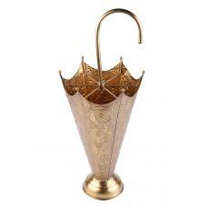 Подставка под зонты металлическая(латунь)