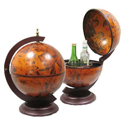 Купить Глобус бар настольный диаметр сферы 33см в Москве