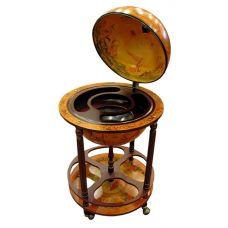Глобус бар напольный диаметр сферы 42см