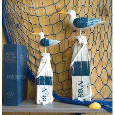 """Декор морской""""Чайки"""" 40см,BLUE"""