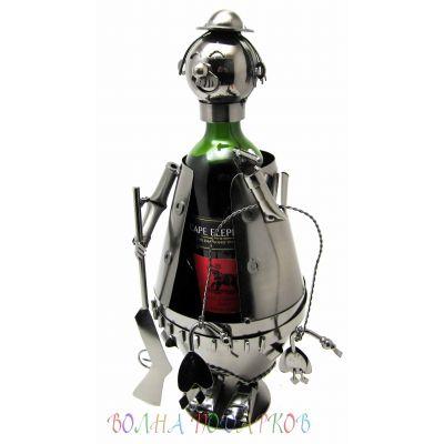 Купить Подставка под бутылку Охотник с добычей в Москве