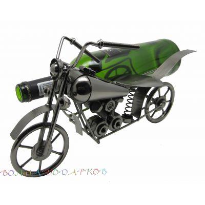 Купить Подставка под бутылку Мотоцикл с коляской в Москве