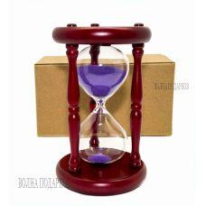 Часы песочные 15 минут  песок,высота 19 см.