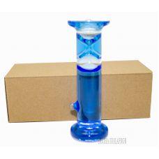 Жидкие песочные часы на 1 мин,высота 15см