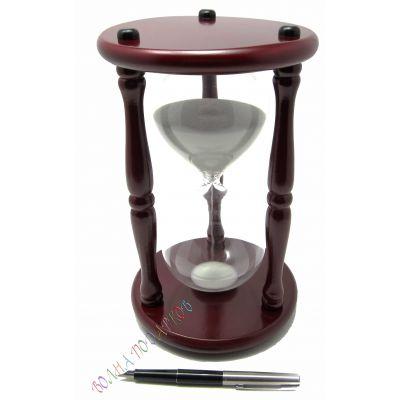 Купить Часы песочные 30 минут белый песок,высота 25см. в Москве