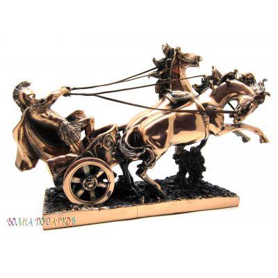 Купить Статуэтка воин на колеснице в Москве