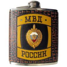 Оригинальная фляжка «МВД России»