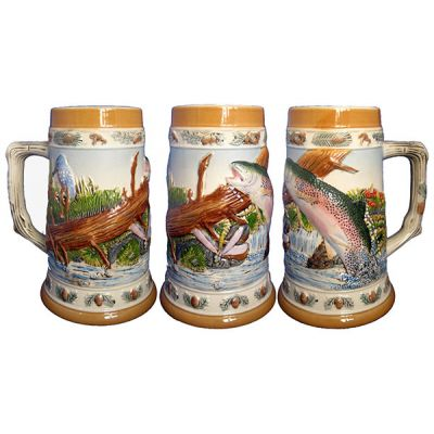 Купить Кружка пивная «Рыбалка» в Москве