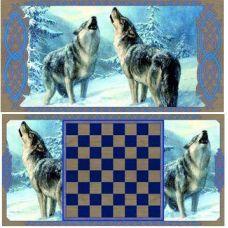 Нарды в подарок Волки