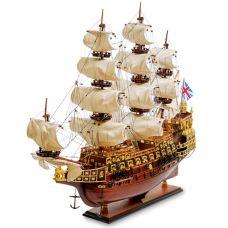 SP-02 Модель британского линейного корабля 1637г.