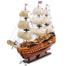SP-01 Модель британского линейного корабля 1668г.