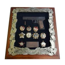 Ключница деревянная ТТ с наградами СССР