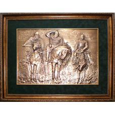Картина Три богатыря 52х39см