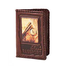Обложка для паспорта «Вокруг света» 009-08-04М