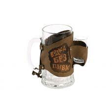 Бокал «Водка без пива-деньги на ветер» 031-07-01М
