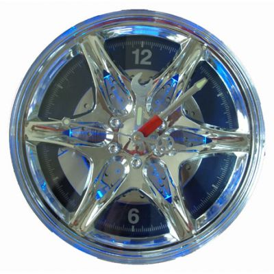 """Купить Часы колесо """"диск 27 см"""" с подсветкой в Москве"""