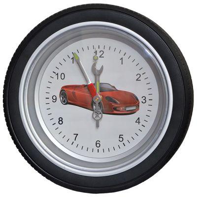 """Купить Часы колесо """"Феррари"""" большие,диаметр 35 см в Москве"""