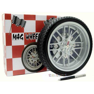 Купить Часы колесо 26 см  без подсветки в Москве