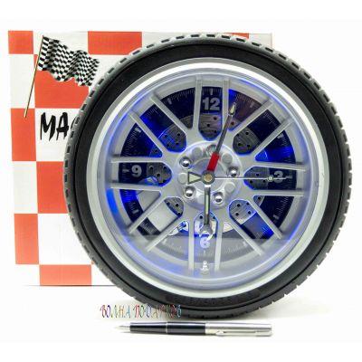 Купить Часы  колесо 26 см  с подсветкой в Москве