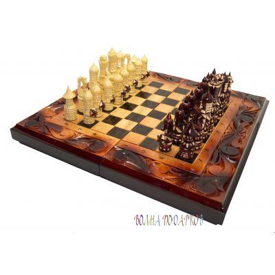 Купить Набор игр: шахматы, шашки, нарды  40Х20 см в Москве
