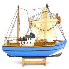 Модель рыбацкой шхуны, 28см
