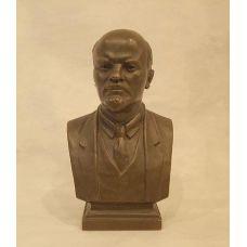 Бюст  Ленина В.И.,18см,бронза