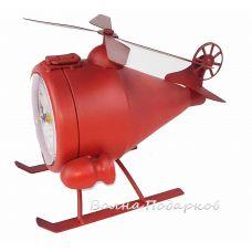 Модель Пожарного вертолета с часами и тайником