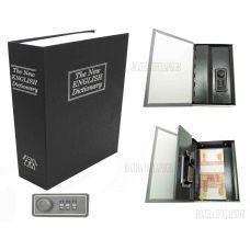 Книга сейф с кодовым замком The New ENGLISH Dictionary| 18см