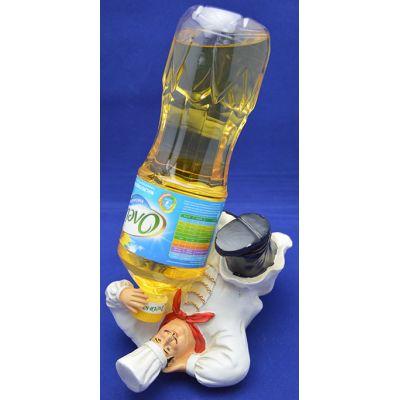 Купить Подставка для бутылки Повар на отдыхе в Москве