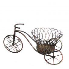 """Подставка для цветов """"Велосипед с короной"""""""
