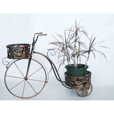 """Купить Подставка для цветов """"Велосипед"""" с двумя корзинками в Москве"""