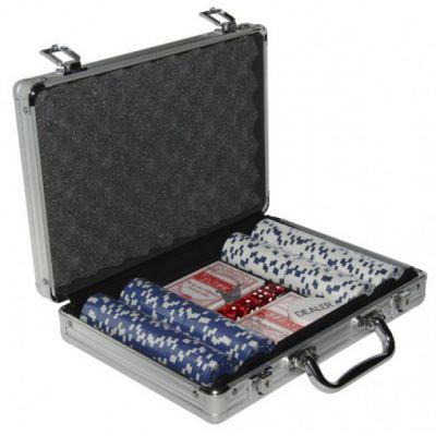 Купить Набор для покера на 200 фишек в кейсе в Москве