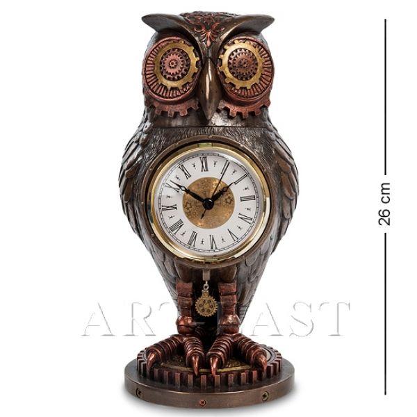"""Статуэтка-часы в стиле Стимпанк """"Сова"""", 26 см от 6 500 руб"""