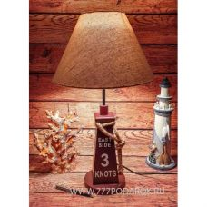 Лампа настольная в морском стиле,54см