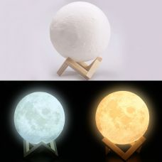 Лампа ночник Луна,диаметр 15 см