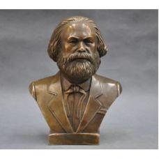 Бюст Карла Маркса-бронза