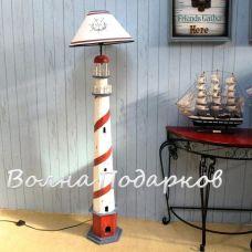 Торшер в морском стиле,высота 150см