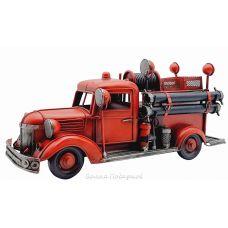 Модель пожарной машины Chevrolet Lake Benton's old 1938 fire truck,30см