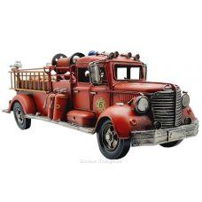 Ретро модель пожарной машины 50см