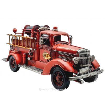 Купить Ретро модель пожарной машины в Москве
