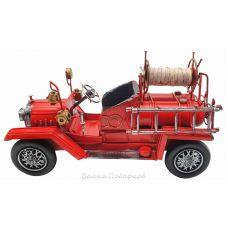 Ретро модель пожарной машины,26см