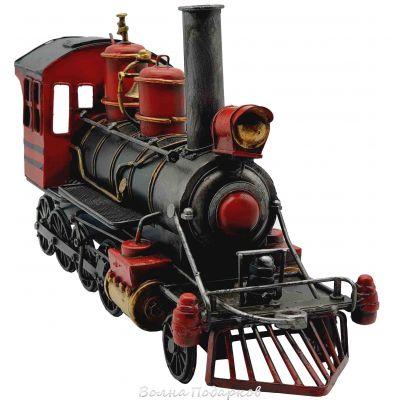 Купить Ретро модель Паровоз 41см в Москве