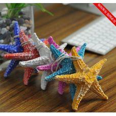 """Декор """"Морские звезды"""" комплект 3 шт,15см(шесть цветов на выбор)"""