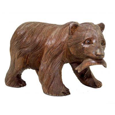 Купить Статуэтка Медведь - рыбак в Москве