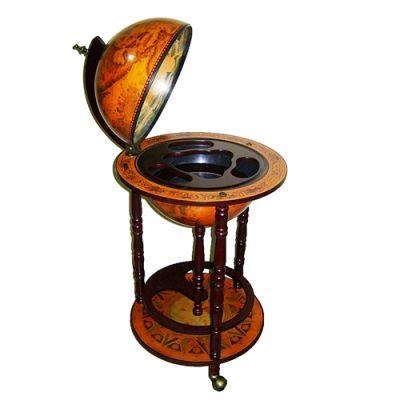 Купить Глобус бар напольный диаметр сферы 33см в Москве