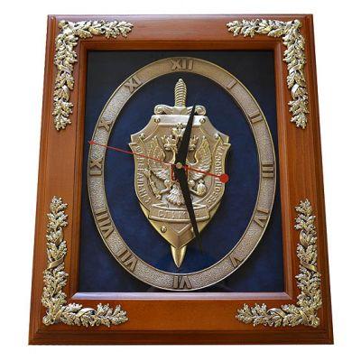 """Купить Часы с символикой """"ФСБ"""" 34 cм в Москве"""