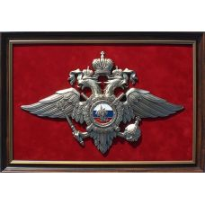 """Панно с символикой МВД"""" 33х48см"""